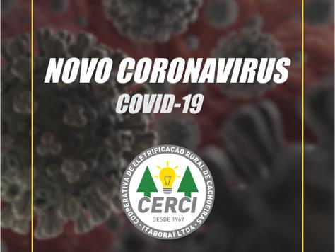 Modificações operacionais e administrativas (COVID-19)
