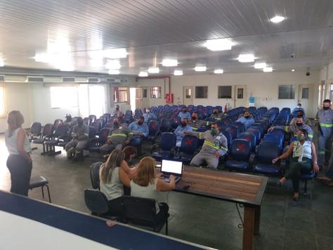 Início da semana com reunião da CIPA, junto aos líderes de setores da CERCI.