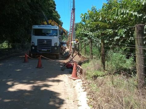 Melhoramento da rede nas localidades de Matumbo, Estreito, Serra Queimada e Areal