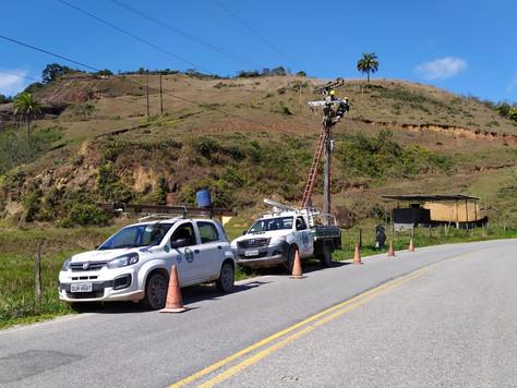 Melhoramento na rede de distribuição no Guapiaçu e adjacências