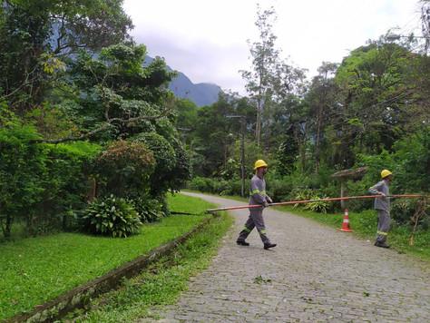 Realização de manutenção na Rede de Distribuição do bairro Castália.