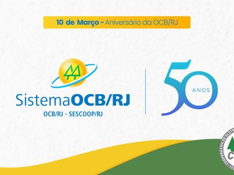 Uma homenagem da CERCI aos 50 anos da OCB/RJ.