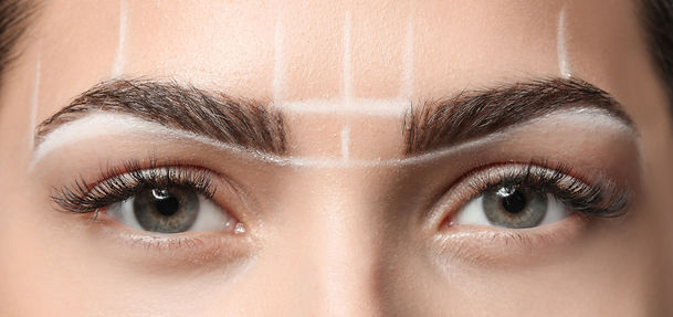 Microblading creates natural fine strokes for neater brows