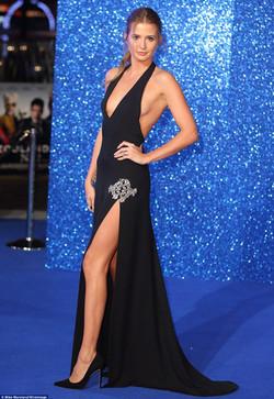 Millie Mcintosh red carpet makeup glamour.