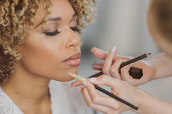 Perfect makeup.
