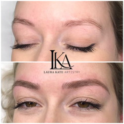 Great result from thin brows to perfectly defined.