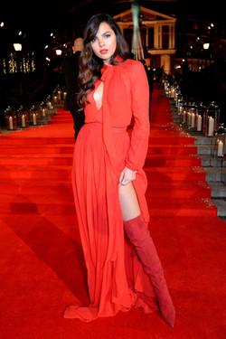 Doina Ciobanu beautiful makeup at The Fashion Awards2016