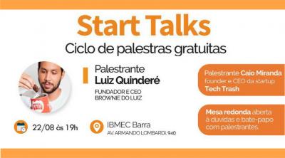 Start Talks 4ª edição - Luiz Quinderé