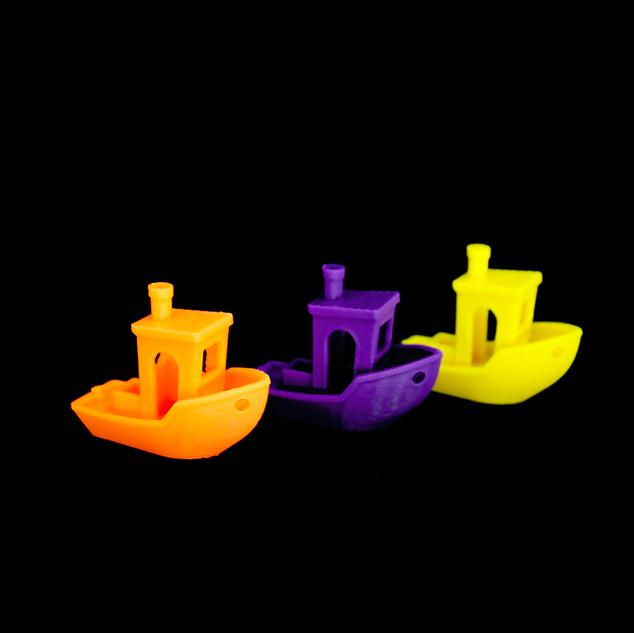 Barquinhos para calibre de impressão