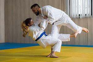 Judo lutte