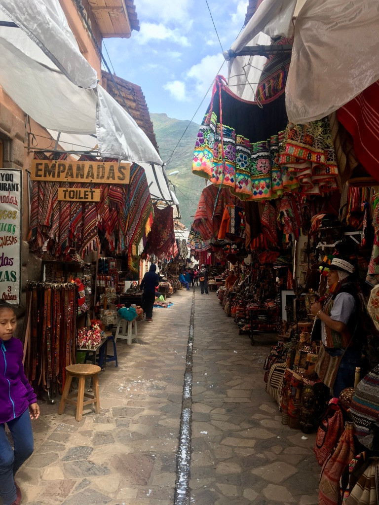 Art craft market in Pisac