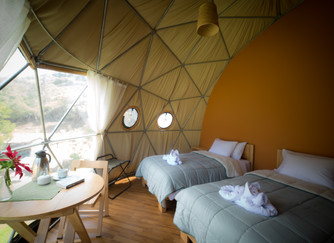 Forget Camping, Come Glamping