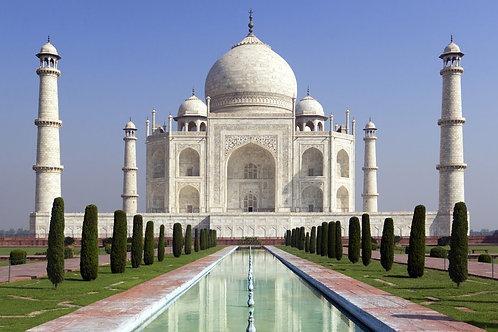 Gliding Over Taj Mahal