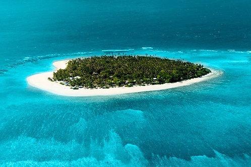 Gliding Over Fiji