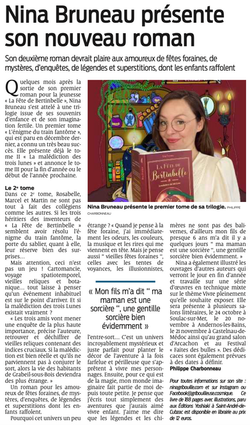 JOURNAL SUD OUEST 9/9/21