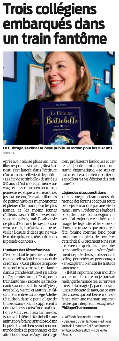 Article SudOuest 16-12-20