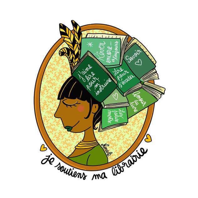 Je soutiens ma librairie - Nina Bruneau