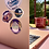 Thumbnail: Lot : 3 stickers cosmiques