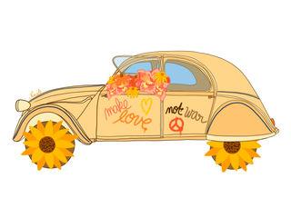 Make love, not war - Nina Bruneau