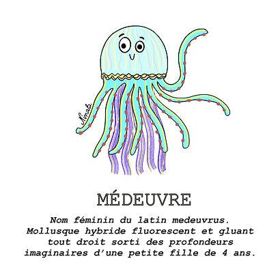 Médeuvre - Nina Bruneau