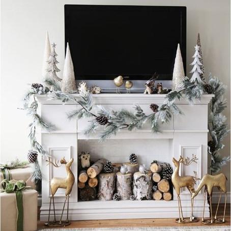 MelRose Loves: Christmas Mantles