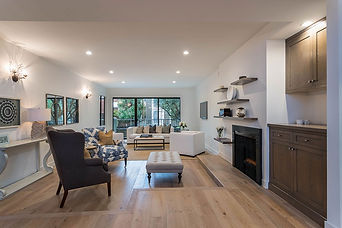 Melrose and co, Interior design, los angeles, living room