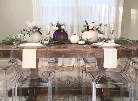 MelRose DIY: Your Thanksgiving Table