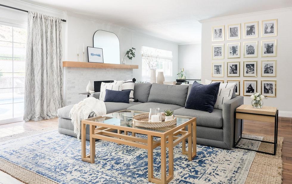 Living Room, Sofa, Gallery Wall, Melvin