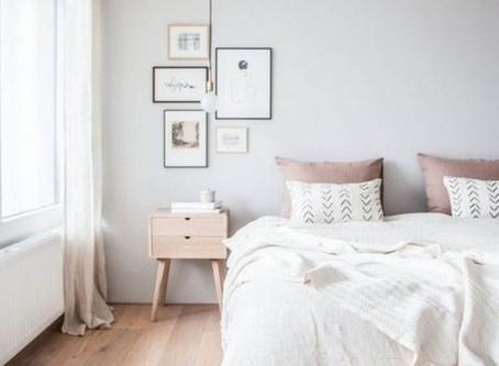 MelRose Mock-Up: Minimalist Scandinavian Bedroom
