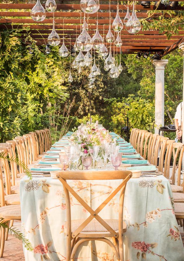 Wedding in Mallorca Pergola decoration