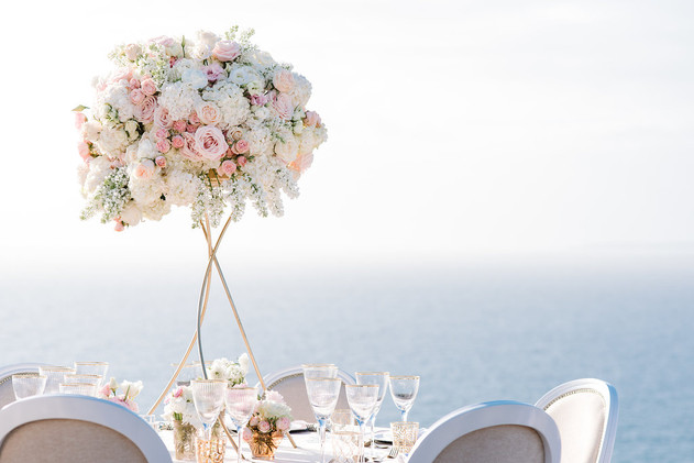 Wedding Mallorca beautiful sea view