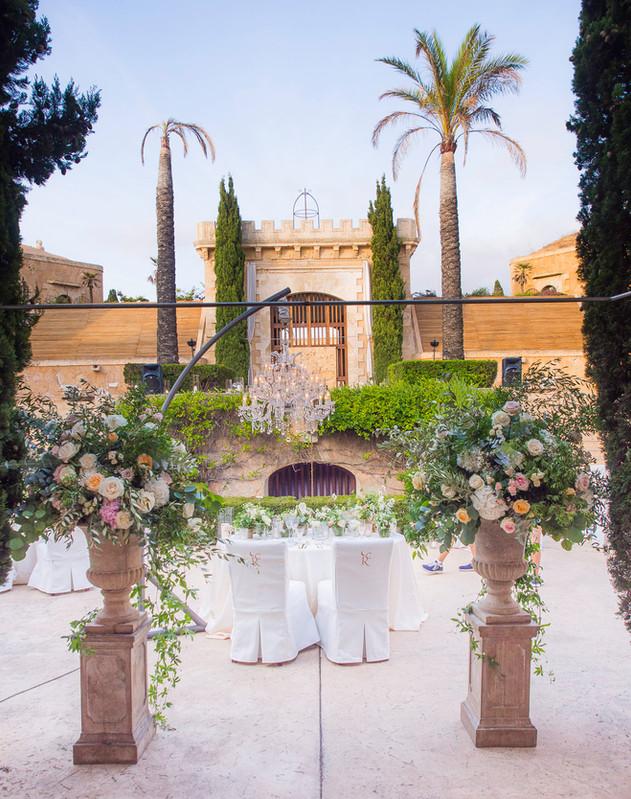 Wedding Mallorca unbelievable location