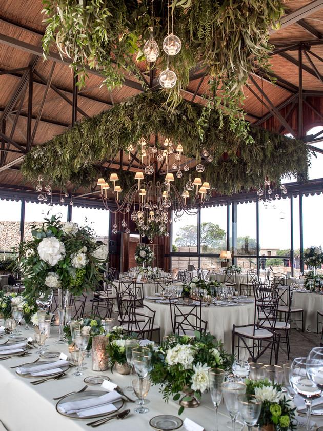 Wedding Mallorca ceiling decoration