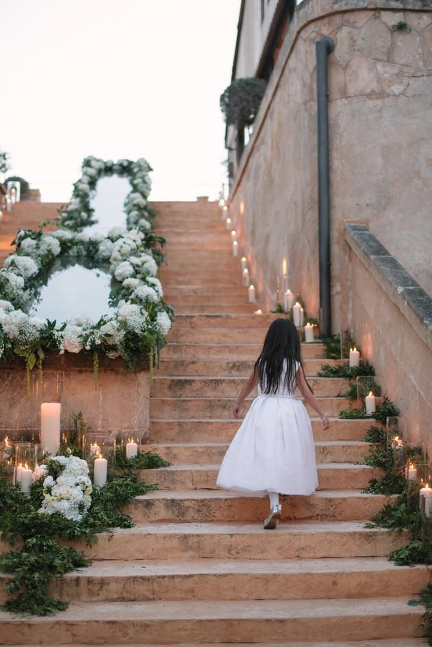 Stairway decoration
