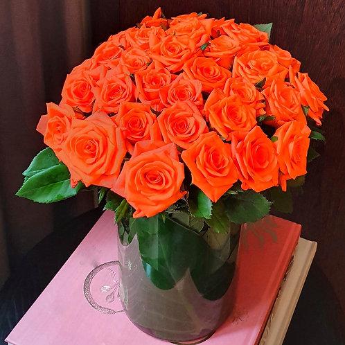 Buquê de Rosas Laranja