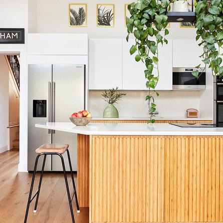 Midcentury inspired kitchen
