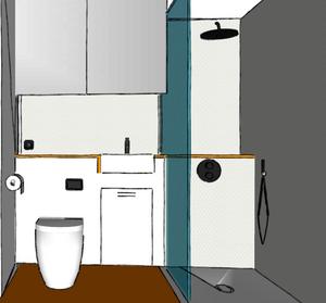 Bathroom interior design renovation