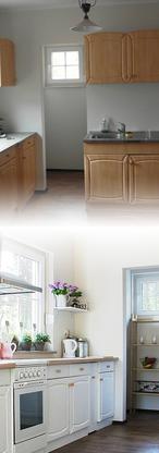 Vorher / Nachher: Küche