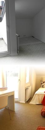 Vorher / Nachher: Gästezimmer