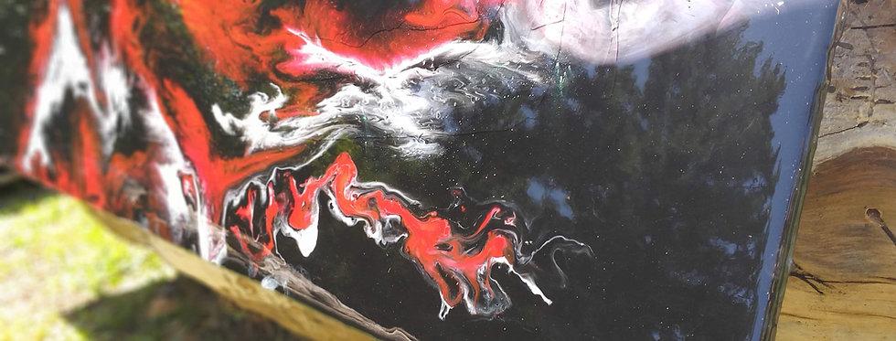 Quadro Resinado - Arte em Resina