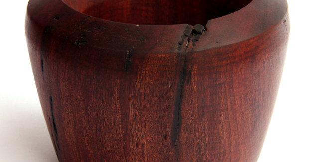 Vaso de madeira CANELA
