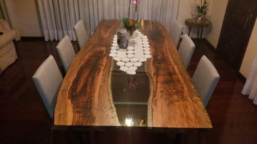Mesa rustica de jantar
