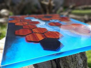 Hexagon - Mesa de Centro