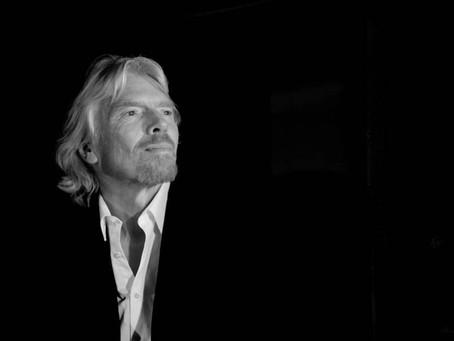 Mentalidade de crescimento por Richard Branson