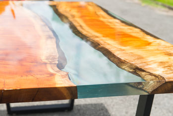 River Table Resina