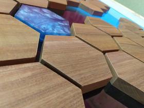 Hexagon Wood'n Water - Mesa de centro