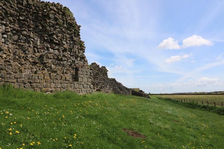 The Roman Walls at Caerwent