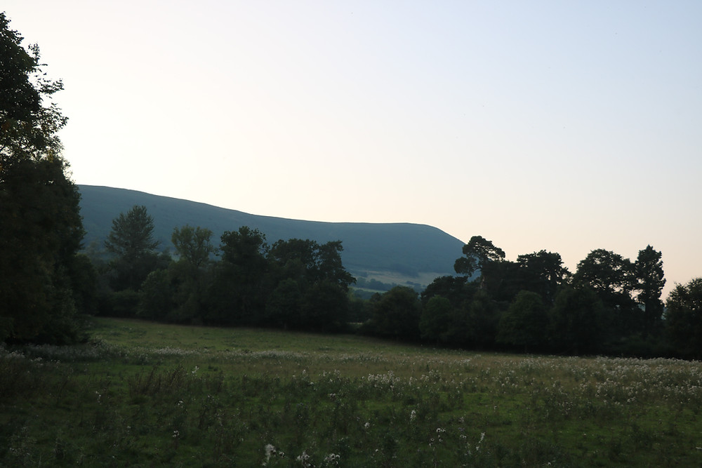 The Black Mountains Out Front