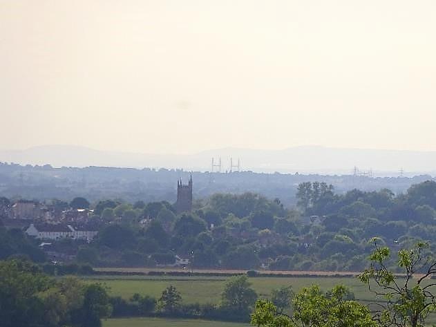 Across to the Severn Bridge
