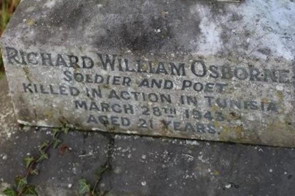 A Memorial to Richard William Osborne Spender in Ross-on-Wye